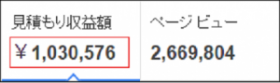 adsense100万円実績