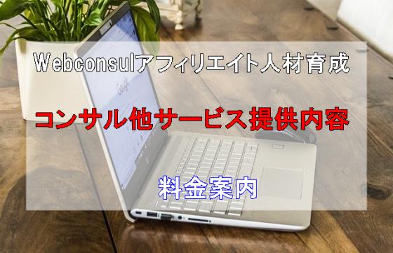 Webconsulアフィリエイトコンサルティング